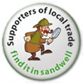 Supporters of local trade - find it in sandwell